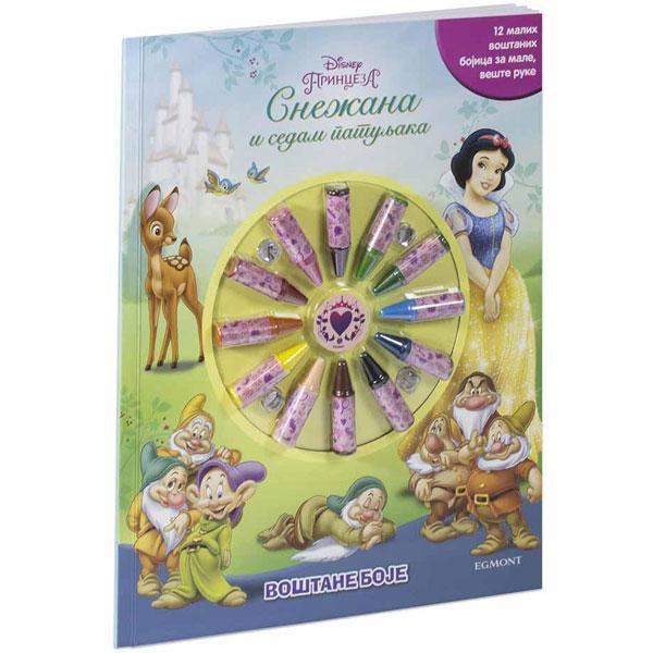 Disney princeze Snežana i 7 patuljaka - voštane boje EGM1051 - ODDO igračke