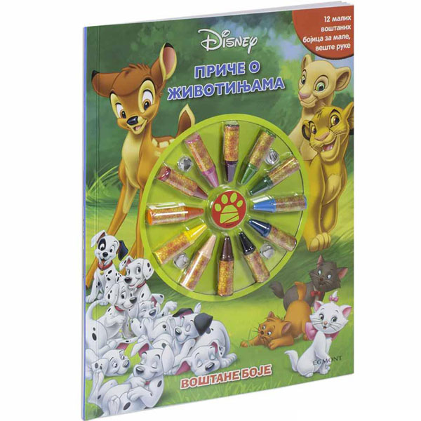 Disney junior Priče o životinjama - voštane boje EGM1050 - ODDO igračke