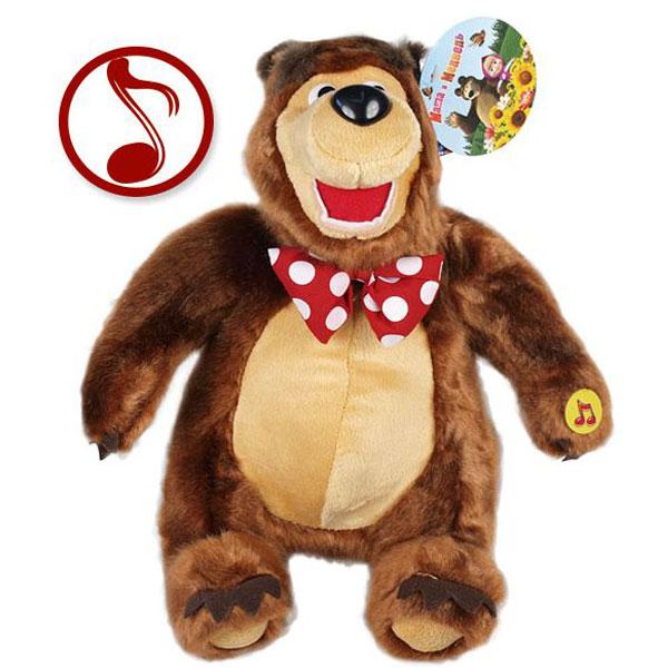 Maša i medved, Meda koji peva 35cm 14334 - ODDO igračke