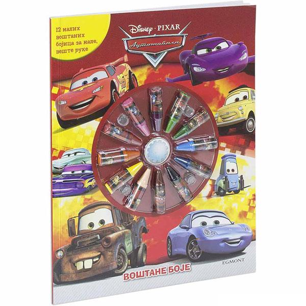 Disney Automobili - voštane boje EGM1048 - ODDO igračke