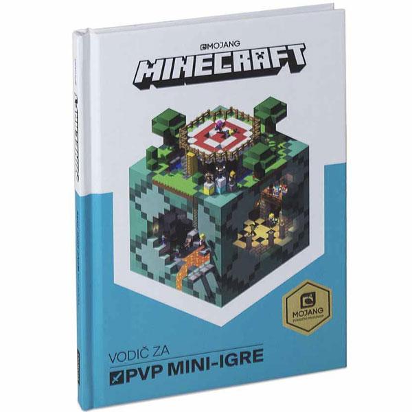 Minecraft vodić za PVP mini igre EGM1047 - ODDO igračke