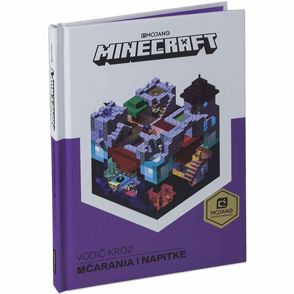 Minecraft Vodič za čaranja i napitke EGM1046 - ODDO igračke