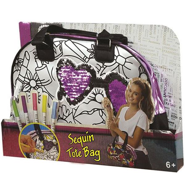 Torbica sa šljokicama piši-briši 0127304 - ODDO igračke