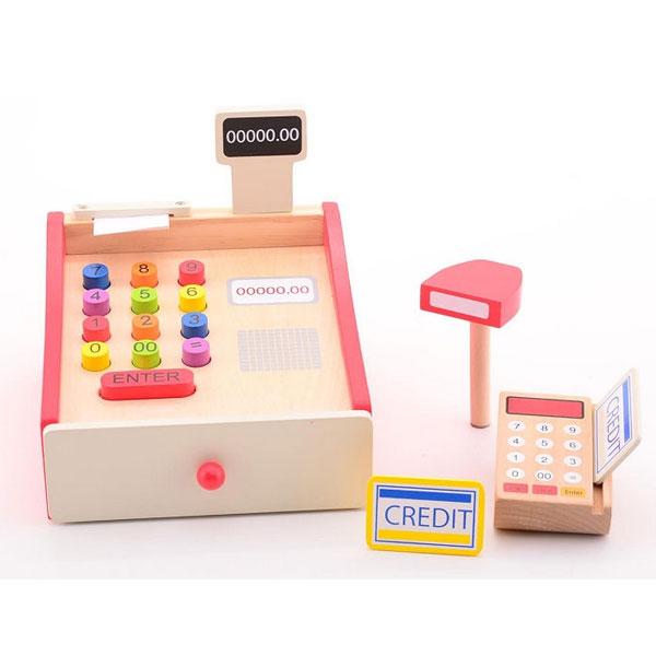 Drvena registar skener kasa Joueco 33801 - ODDO igračke