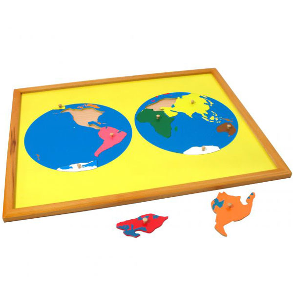 Puzzla Svet Montesori ATG0074 - ODDO igračke