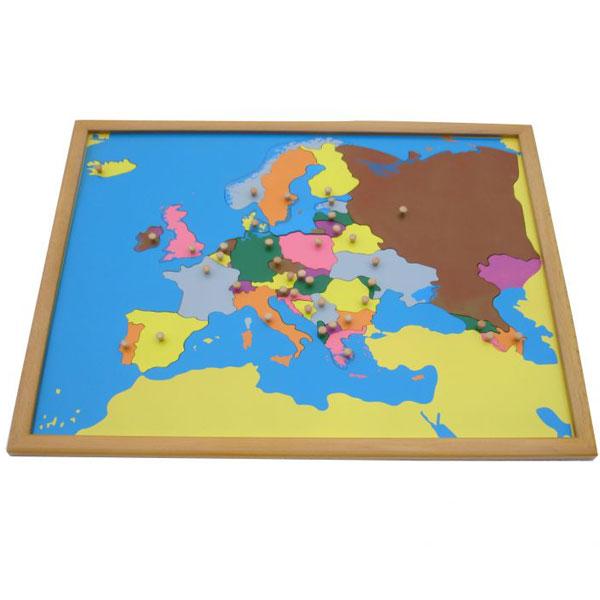Puzzla Evropa Montesori ATG0075 - ODDO igračke