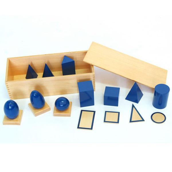 Set Geometrijskih tela Montesori ATM0198 - ODDO igračke