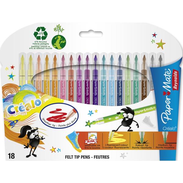Flomasteri Papermate Crealo 1/18 S0251913 - ODDO igračke