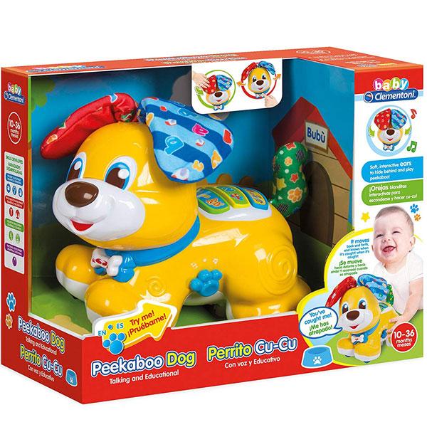 Peekaboo Dog Kučence Clementoni CL50535 - ODDO igračke