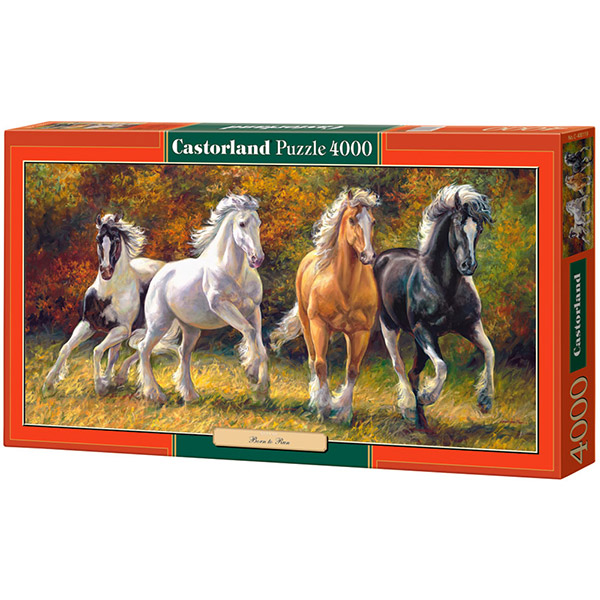 Castorland puzzle 4000Pcs Copy of Born to Run C-400119 - ODDO igračke
