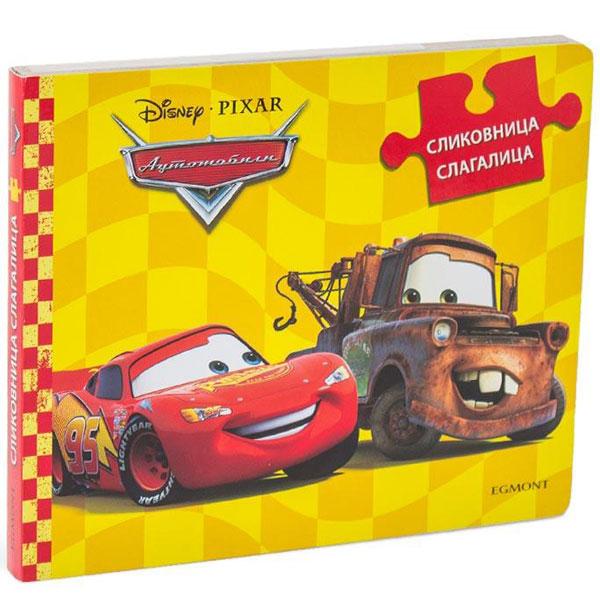 Disney Automobili Slikovnica Slagalica EGM0110 - ODDO igračke