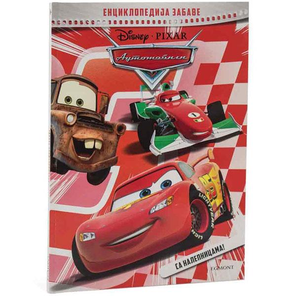 Disney automobili enciklopedija zabave EGM0164 - ODDO igračke