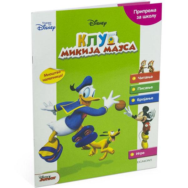 Disney Klub Mikija Mausa Priprema za školu EGM1042 - ODDO igračke