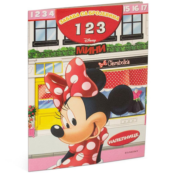 Disney Mini Maus Zabava sa brojevima 123 EGM1036 - ODDO igračke