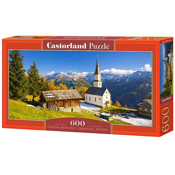 Castorland puzzla 600 Pcs Church Marterle,Carinthia B-060153 - ODDO igračke