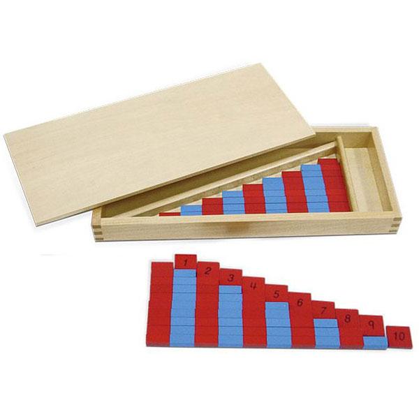 Mali aritmetički štapovi, dvobojni Montesori HTM0185 - ODDO igračke