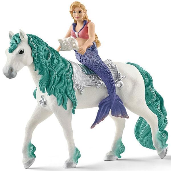 Schleich Bayala figura Gabriella sirena na konju 70558 - ODDO igračke