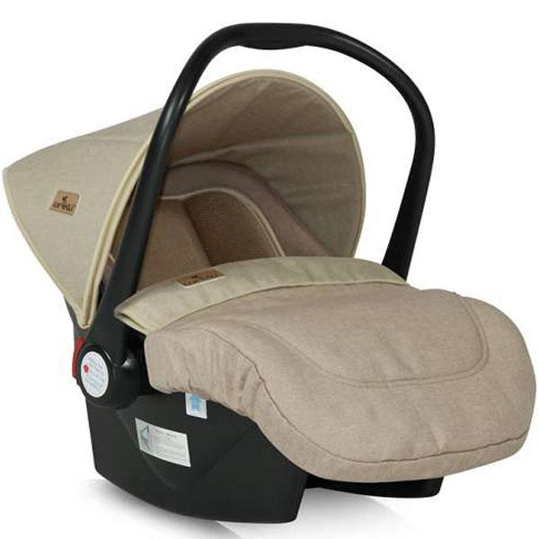Auto sedište za decu od 0-13kg Lifesaver Beige 10070301840 - ODDO igračke