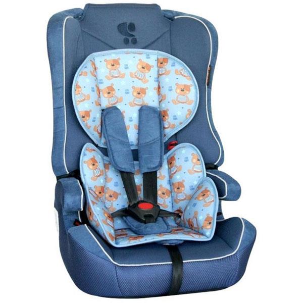 Auto sedište za decu od 9-36kg Explorer Blue Cute Bears 10070891859 - ODDO igračke