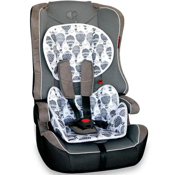 Auto Sedište za decu 9-36kg Explorer Grey Balloons 10070891862 - ODDO igračke
