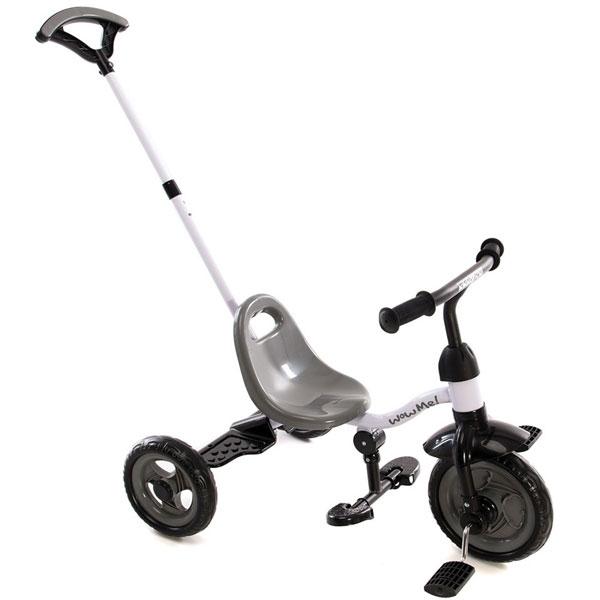 Tricikl Wow me grey Kikka Boo 31006020030 - ODDO igračke