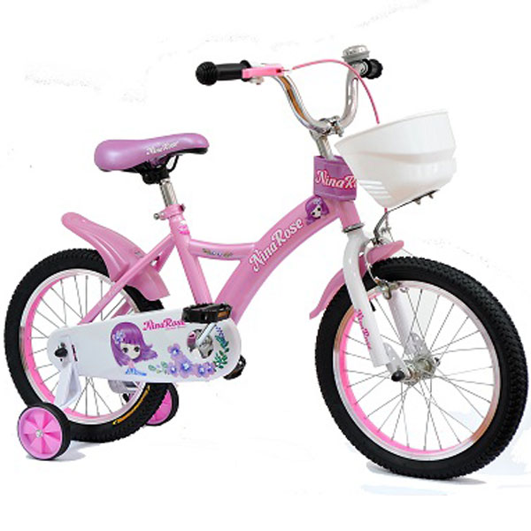 Bicikl dečiji 16inca model Nina Rose 704 - ODDO igračke