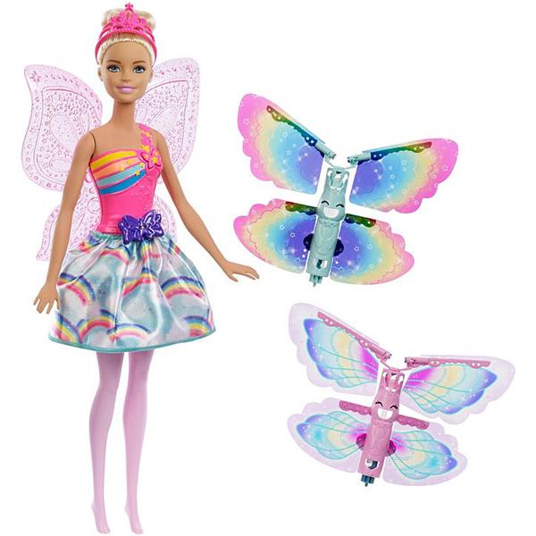 Barbie lutka Dreamtopia leteća vila MAFRB08 - ODDO igračke