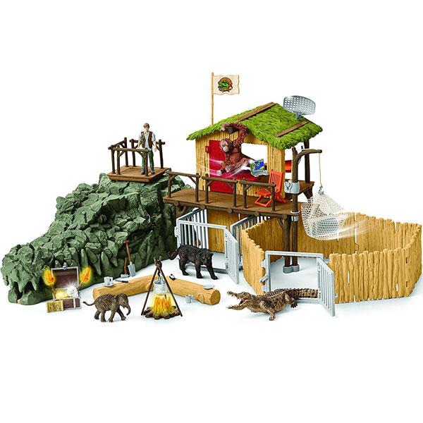 Schleich set Istraživačka stanica u džungli 42350 - ODDO igračke