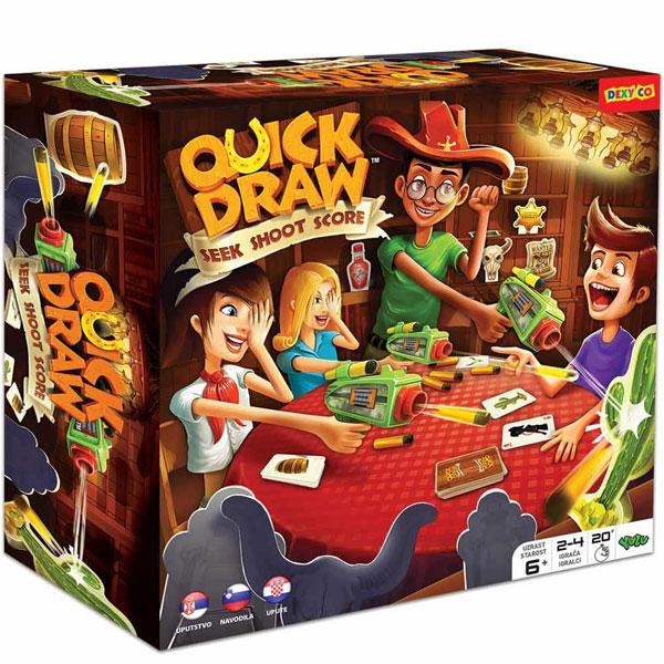 Društvena igra QUICK DRAW YL20080 - ODDO igračke