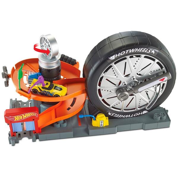Hot Wheels pista City Super Spin Tire Veliki točak MAFNB15 - ODDO igračke