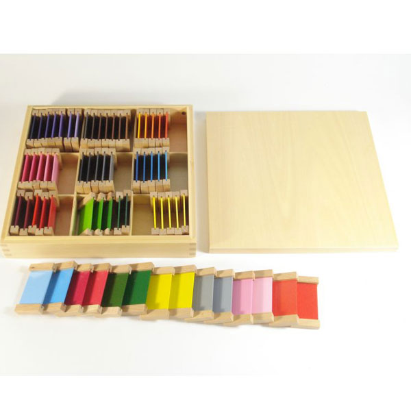 Drvene pločice u boji Montesori HTS0007 - ODDO igračke
