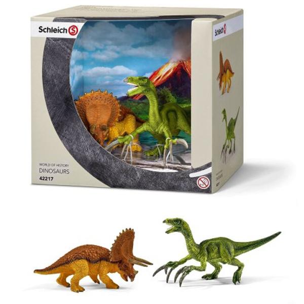 Schleich Figure dinosaurusa Triceratops and Therizinosaurus 42217 - ODDO igračke