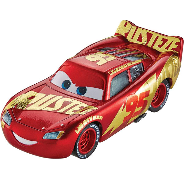 Cars 3 Lightning McQueen Exclusive metalni automobil DXV45 - ODDO igračke