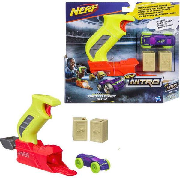 Nerf Nitro Throttle Shot Blitz C0780 - ODDO igračke