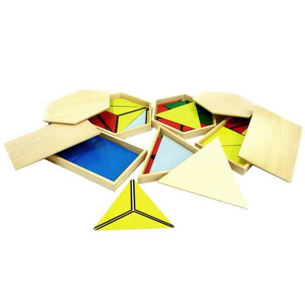 Kontruktivni trouglovi Montesori HTS0257 - ODDO igračke
