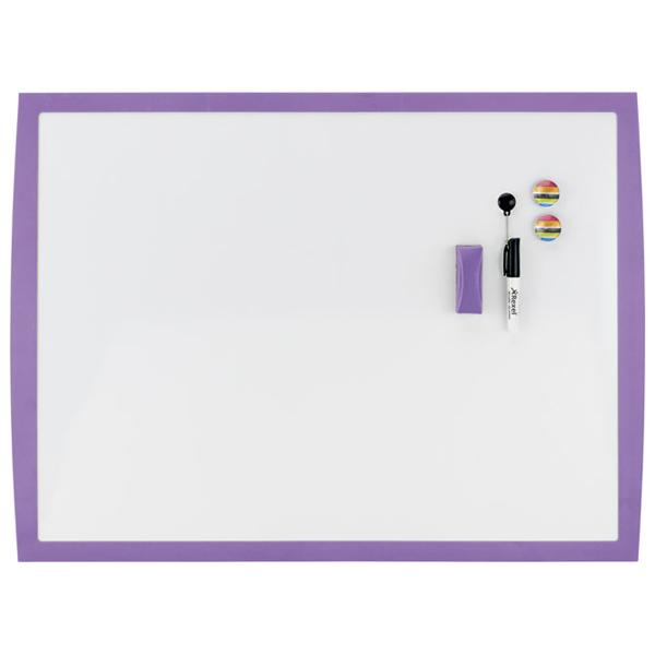 Tabla magnetna 58,5x43cm ljubičasti okvir Joy Nobo 2104178 bela - ODDO igračke