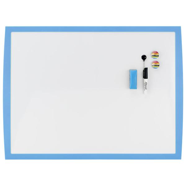 Tabla magnetna 58,5x43cm plavi okvir Joy Nobo 2104176 bela - ODDO igračke