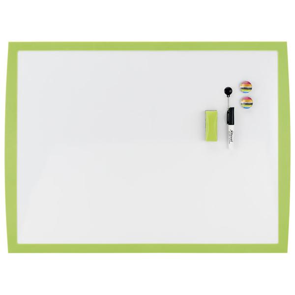 Tabla magnetna 58,5x43cm zeleni okvir Joy Nobo 2104175 bela - ODDO igračke