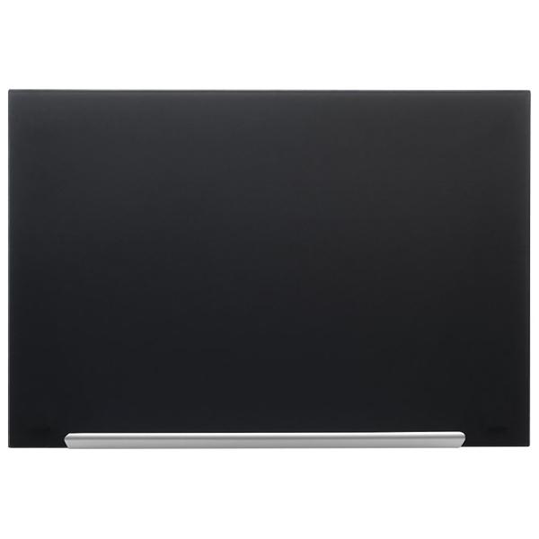 Tabla magnetna 67,7x38,1cm staklena Diamond Nobo 1905179 crna - ODDO igračke