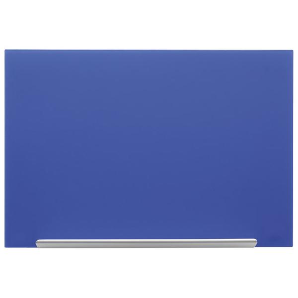 Tabla magnetna 67,7x38,1cm staklena Diamond Nobo 1905187 plava - ODDO igračke