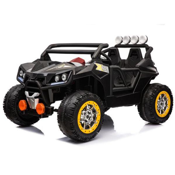 Auto na akumulator crni i beli RC 12V10AH 2 motora KL-2988 11/3099 - ODDO igračke