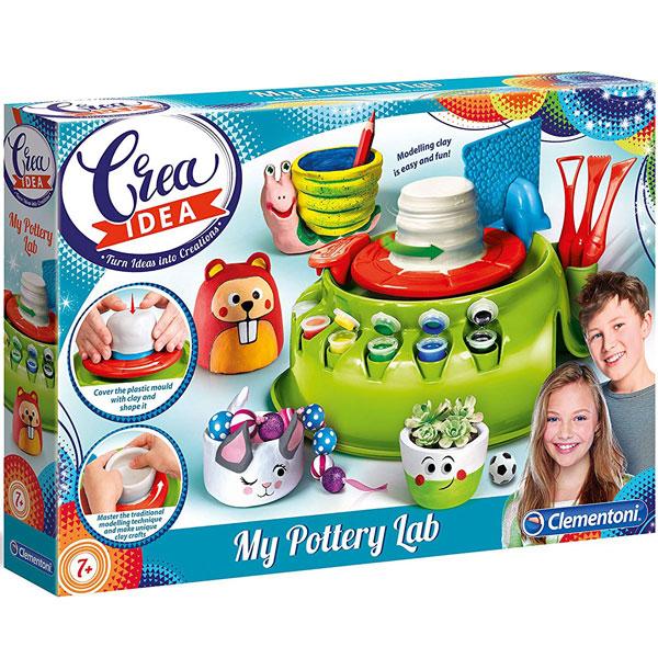 Grnčarski točak Clementoni Crea Idea CL15236 - ODDO igračke