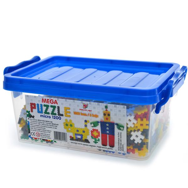 Mega puzzle micro 1200 3951428 - ODDO igračke