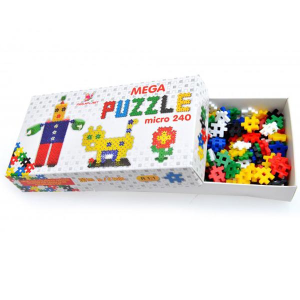 Megaplast Mega puzzle micro 240 3951404 - ODDO igračke