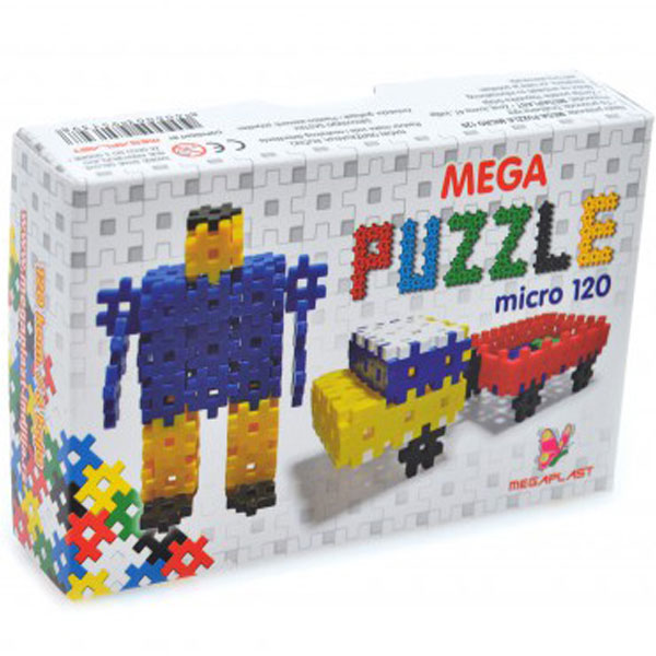 Mega puzzle micro 120 3951398 - ODDO igračke