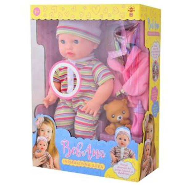 Lutka beba Bebana Interaktivna lutka 68038 - ODDO igračke
