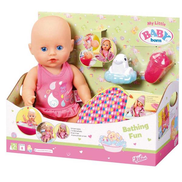 Baby Born Lutka beba My Little Bathing Fun ZF825341 - ODDO igračke
