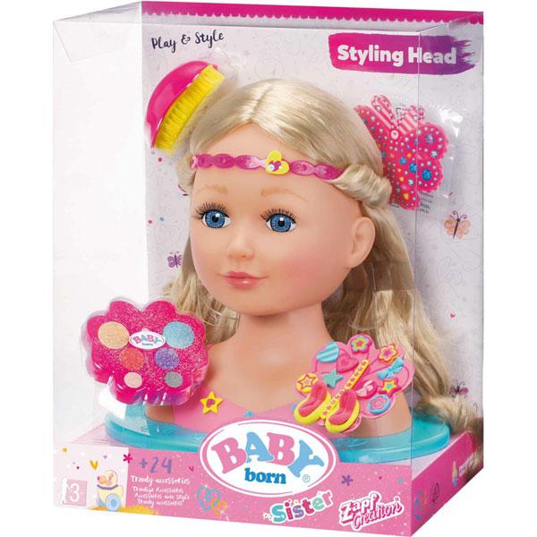 Baby Born lutka Sister Styling Head ZF824788 - ODDO igračke