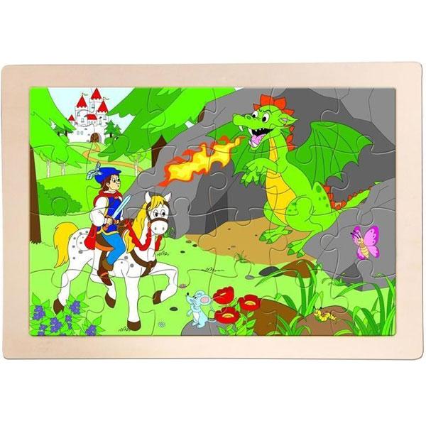 Drvene Puzzle Princ Bajaja 91158 - ODDO igračke