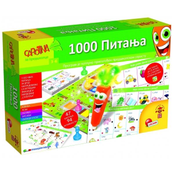 Carotina SR Edukativna igra 1000 Pitanja RS67411 - ODDO igračke